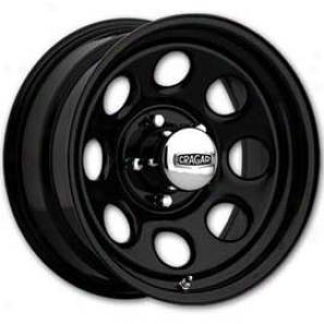 Cragar Wheels Series 397 Black Soft 8, 5x4.5 Bp, 15x10
