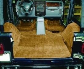 Cut Pile Carpet, Complete, Tan