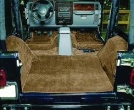 Cut Pile Carpet Kit, Complete, Mocha