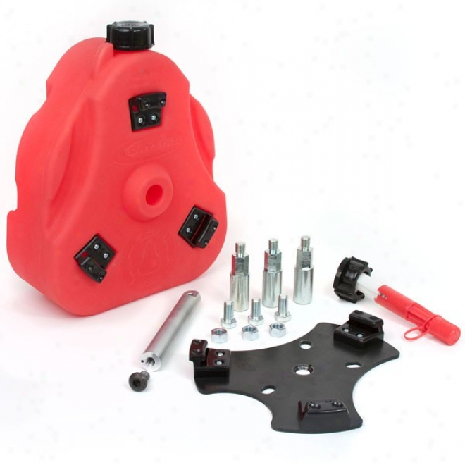 Daystar 2.5 Gallon Fuel Can Cam, Complete Kid, Red