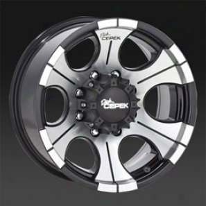 Dick Cepek  Dc-2 17x9 Gloss Black Machined