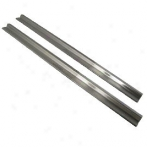 Door Entry Guards Pair Stainless Steel