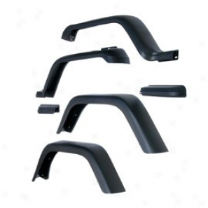 Fender Flare Kit 7-inch Wixe (6 Pieces) (requires Trimming Of The Rear Wheel Openings)