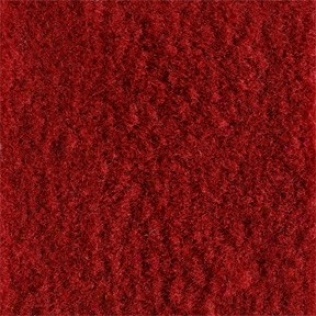 Flame Red Poly Backed Complete Carpet Kit