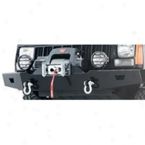 Front Bumper Without Grille Gua5ds, Black