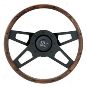 Hardwood/black Challenge Sreries Wheel