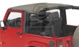 Header Bikin,i Windjammer & Duster Deck Cover Kit Khaki Diamond