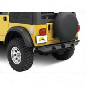 Highrock 4x4 Rear Bumper With Calss 2.5 Hitch & Departure Roller Ascend