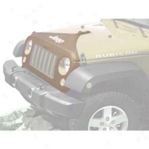 Hood Cover W/ Jeep L0go, Khaki