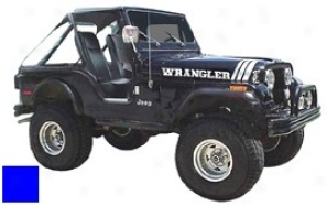 Jeep Decal Kit, Blue