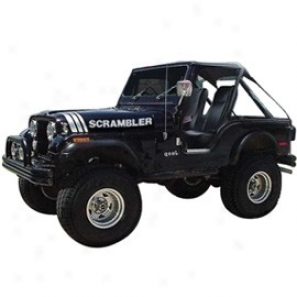 Jeep Decal Scrambler Kit Silver