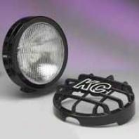 """kc Hilites Jeep Tj Replacement Fog Light, 6"""" Black 55w, Single"""