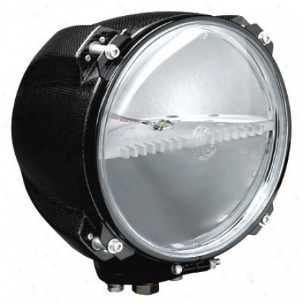 """kc Hilites Lzr 36 Watt Led 8"""" Stainless Steel & Kc-pod Light"""