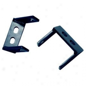 Kentrol Jeep Bumper Brackets Pair Black