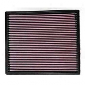 K&n High Flow Replaceable Air Filter 2.7l, 3.1l, 4.0l & 4.7l
