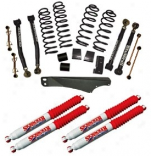 Lift Kit, 2 .5-3.5 Inch Value Flex Serries, Skyjacker W/hydro Shocks