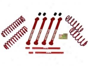 Lift Kit, 2.5 Inch Standard Series, Classic Red Skyjacker