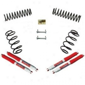 Lift Kit, 2.5 Inch Standard Series, Skyjacker W/ Nitro Shocks