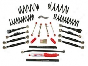 Lift Kit, 4 Inch Dpuble Flex Series, Skyjacker