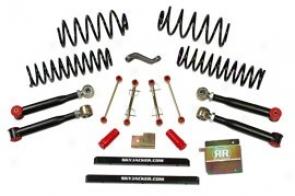 Lift Kit, 4 Inch Value Flex Series Skyjacker