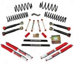 Lift Kit, 4 Inch Value Flex Series, W/ Hydro Shocks Skyjacker