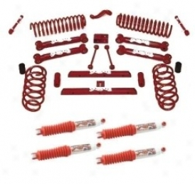 Lift Kit, 4 Inch,standard Series, W/ Hydro Shocks Skyjacker