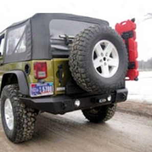Lod Dkor Lonked Gen3 Full Width Bumper/tire Carrier, Zinc Enriched 2 Stage Texture Black