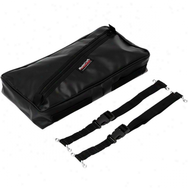 Mastercraft Tool Tote Large With 2 Straps Black