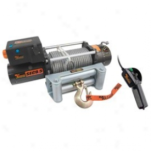 Mile Marker, Sec9.5, 12v Winch, 4.8 Hp Series Wound Motor With Standard Electrlnics