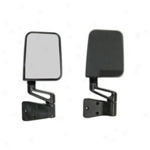 Mirror Kit  Left & Right (pair) Black