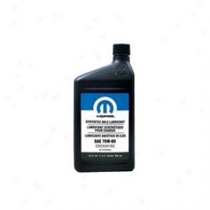 Mopar Synthetic Axle Lubricant Sae 75w-85, 1 Quart (32 Oz.)