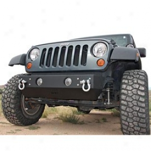 Or-fab Bumper, Front Rock Slider Wrinkle Black Powder Coat