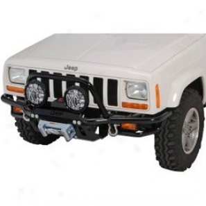 Or-fab Front Bumper Winch Style Bicycle Black Powder Coat