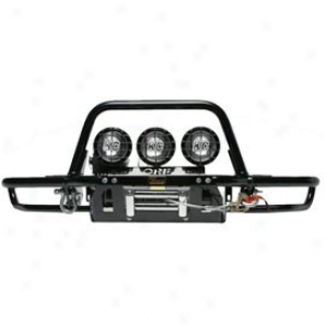 Or-fab Front Bumper Winch Style Wrinkle Black Powder Coat