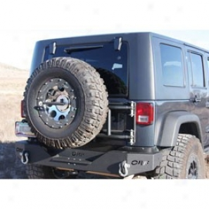 Or-fab Swing Away Tire Caarrier Wrinkle Black (non Jerry Can Version)