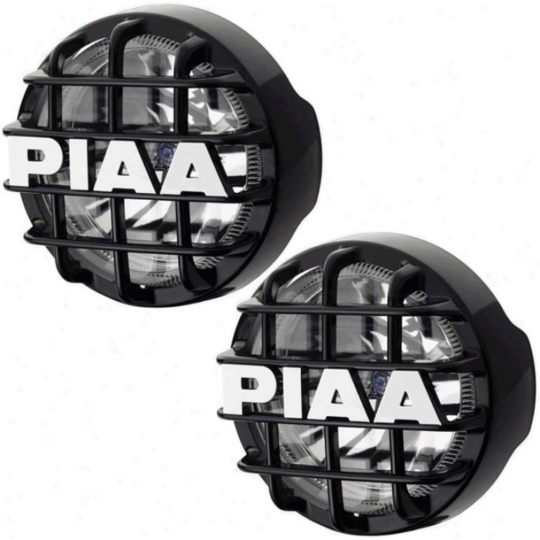 """piaa, 525 Series, Clear High Beam & Plasma Ion Low Beam, Light Kit, Black (6 1/4"""" X 3 7/16"""")"""