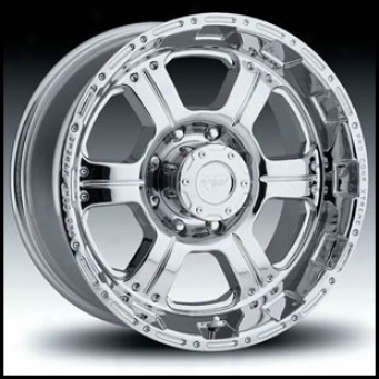 """pro Comp Series 6089 Chrome 17"""" X 8"""""""