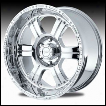"""pro Comp Wheel 1089 16"""" X 8"""" Polished"""