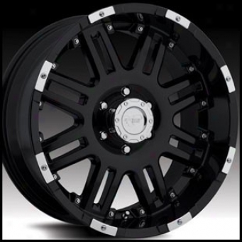 """pro Comp Wheel 8188 20"""" X 8.5"""" Extenuate Black With Accents"""