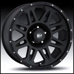 Pro Comp Wheels Series 7005 18x9 Cast Black  Finish