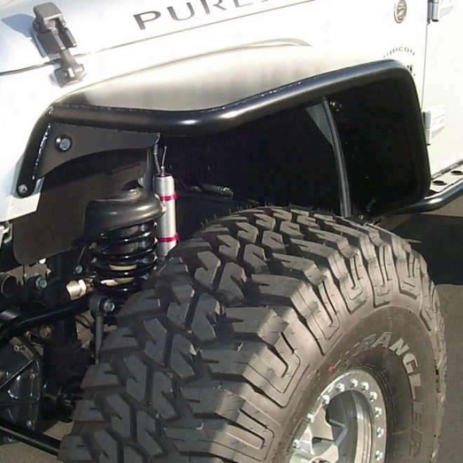 Purejeep Front Tube Fender Pair