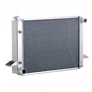 Radiator Aluminum Natural Fiinish Standard V8 Conversions