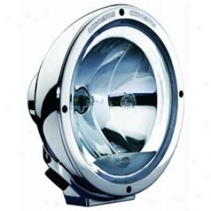 Rallye 4000 Halogen Euro Beam Lamp With Celis Position Lamp - Chrome Housin 12v (single)
