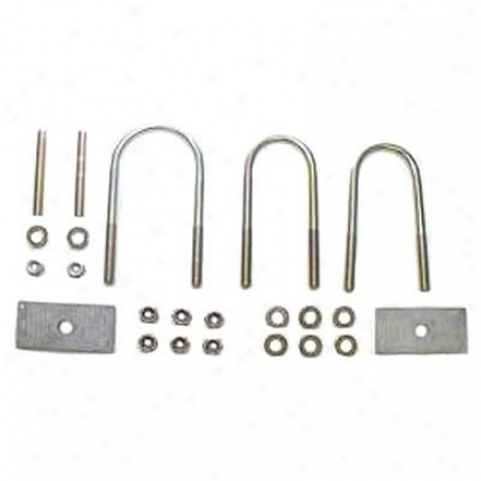 Rancho Heavy Duty Resr Axle U-bolt Kit