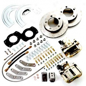 Rear Drum To Disc Conversion Kit For Dana 44 Axles