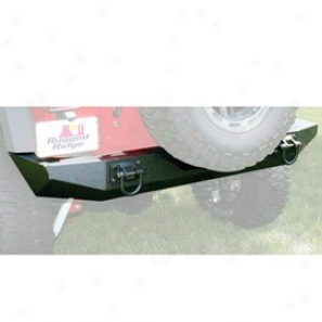 Rear Xhd Bumper Textured Black