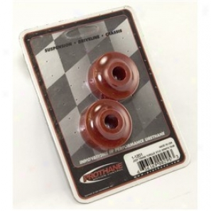 Red Polyurethane Stabilizer Bushing Pair