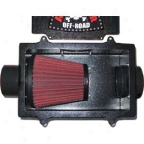 River Raider Air Box W/filter, Simple Steel