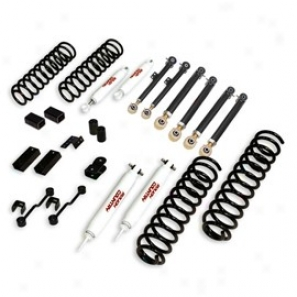 """rough Country 4"""" X-series Suspension Lift Kit W/ Hydro Shocks"""
