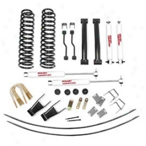 """rough Country 4.5"""" Suspension Lift Kit, Add-a-leafs, Hydro 8000"""
